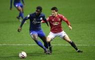 Tân binh sáng giá ghi bàn thắng đầu tiên cho Man Utd