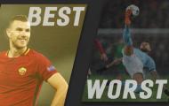 Những cầu thủ chơi tốt nhất và tệ nhất sau lượt trận tứ kết Champions League