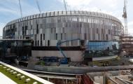 Sân nhà sắp hoàn thiện, CĐV Tottenham 'khóc thét' vì sung sướng