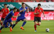 Giao hữu tiền World Cup 2018: Hàn Quốc thất bại khi thử nghiệm sơ đồ 3 hậu vệ