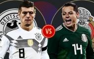 5 điều đáng chờ đợi từ trận Đức - Mexico