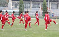 ĐT nữ Việt Nam vẫn thiếu 6 cầu thủ