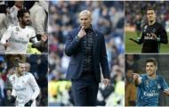 Nhiều cầu thủ Real cùng tranh vị trí ở trận gặp PSG