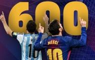 Messi ghi bàn thứ 600: Kiệt tác vĩ đại của nhân loại