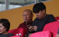 Thầy Park đến sân Hàng Đẫy xem trận Hà Nội đấu Hải Phòng