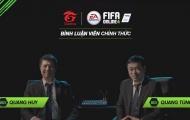 Màn tái ngộ cực hoành tráng của bộ đôi BLV Quang Huy và Quang Tùng trong FIFA Online 4