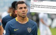 Carlos Tevez chấn thương khi dự trận đấu trong nhà tù