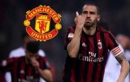 Nâng cấp hàng thủ, Man Utd tăm tia Bonucci