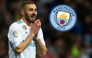 Man City duyệt chi 35 triệu bảng mua tiền đạo 'con cưng' của Perez