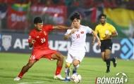 Myanmar 0-0 Việt Nam: Chiến thắng trong tính toán của thầy Park