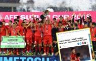 Báo Indonesia: 'ĐT Việt Nam gần như hoàn hảo, vô địch rất xứng đáng'