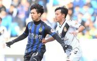 Công Phượng đá trọn 90 phút, Incheon thua Daegu 3 bàn không gỡ