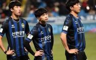 Công Phượng đá 45 phút, Incheon bị đội hạng 3 tiễn khỏi FA Cup