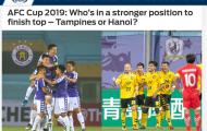 Báo châu Á: Cơ hội nào cho CLB Hà Nội giành ngôi đầu bảng ở AFC Cup 2019?
