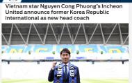 Báo châu Á: Công Phượng sẽ 'nở hoa' dưới bàn tay của tân HLV Yoo Sang-chul?