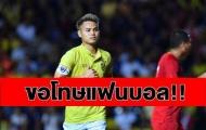 Đội phó ĐT Thái Lan: 'Một trận đấu tệ hại, tôi thật sự thất vọng'