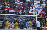 Voi chiến bạc nhược chia tay King's Cup, CĐV Thái Lan vẫn ủng hộ đội nhà