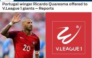 Điểm tin bóng đá Việt Nam tối 11/7: Hà Nội liên hệ với đồng đội của Ronaldo