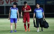 Sao HAGL báo tin vui cho thầy Park sau chấn thương mạn sườn
