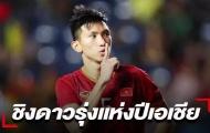 Báo Thái Lan: Ở Đông Nam Á, chỉ có Đoàn Văn Hậu có được vinh dự đó