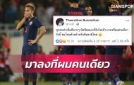 Sút hỏng penalty tại Mỹ Đình, tuyển thủ Thái Lan nói 1 điều bất ngờ
