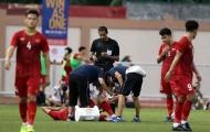 Đã rõ mức độ chấn thương của 'lá chắn thép' U22 Việt Nam