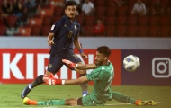 Phá lưới Bahrain, sao trẻ U23 Thái Lan đi vào lịch sử các VCK châu Á