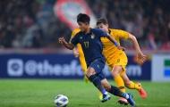 Thua ngược Australia, U23 Thái Lan đánh mất ngôi đầu bảng A