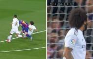 Cho Messi 'ăn hành', sao Real gào thét ăn mừng như ghi bàn