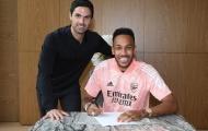 Arteta nói một lời, Aubameyang liền đặt bút ký hợp đồng với Arsenal