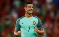 Ronaldo nhận điểm cao nhất trận Bồ Đào Nha- Wales