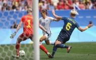 ĐT nữ Mỹ dừng bước ở Olympic 2016 sau loạt sút luân lưu
