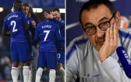 HLV Sarri cập nhật tình hình chấn thương của bộ đôi Chelsea
