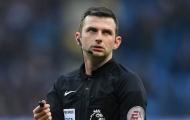 CHÍNH THỨC: 'Ông vua áo đen' của trận Chelsea - Liverpool được xác định