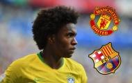CHỐT: Willian ra quyết định tương lai quan trọng giữa M.U và Barca