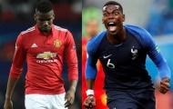 Pogba tại Pháp và Man Utd: Hai gam màu sáng tối