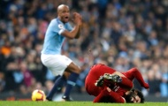 CĐV City phát cuồng vì điều Kompany nói với Salah sau pha vào bóng kinh hoàng