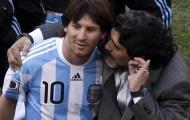 Maradona: 'Tôi yêu Messi nhưng cậu ấy không đủ khả năng'