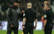 Tiết lộ: 2 từ Klopp nổi điên mắng thẳng mặt trọng tài trận West Ham