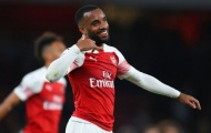 Lacazette thể hiện sự độc tôn ở Arsenal