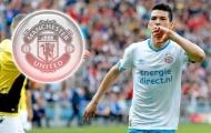 M.U chi 30 triệu bảng, 'số 7 hoàn hảo' hỏi Chicharito việc đến Old Trafford