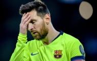 Thảm bại, Barcelona làm điều khó tin với Messi
