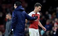 Sóng gió ở Arsenal: Emery nổi điên, Koscielny chuẩn bị nhận án phạt