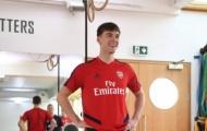 Vừa ra mắt Arsenal, Tierney đã phá tan kỷ lục của Aubameyang