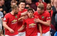 CHOÁNG! Man Utd công bố 3 cầu thủ nhanh nhất, hậu vệ nhanh hơn cả Pulisic