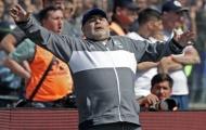 Về quê nhà cầm quân, Maradona bị CLB cũ cho ôm hận ngay trận ra mắt