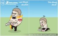 Cười vỡ bụng với loạt ảnh chế Vòng 11 Premier League