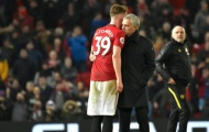 Thua đau, Mourinho dùng 1 từ mô tả McTominay