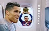 Cười vỡ bụng với loạt ảnh chế Ronaldo mất cúp