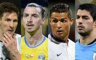 EURO 2016 vs Copa America: M10 đối đầu CR7